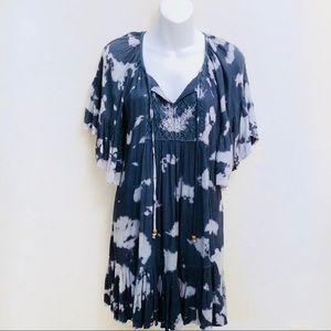 5e52a95495a Alloy Apparel Boho Spotted Dye Dress